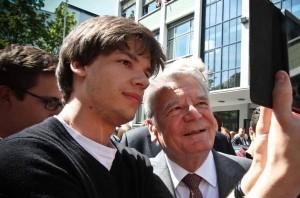 Bundespräsident Gauck zu Gast