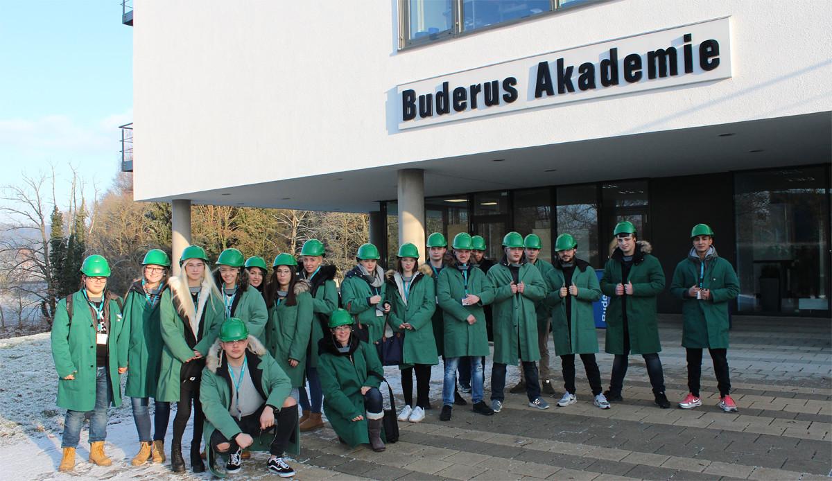 Betriebserkundungen Wirtschaftsschule am Oswaldsgarten, Gießen